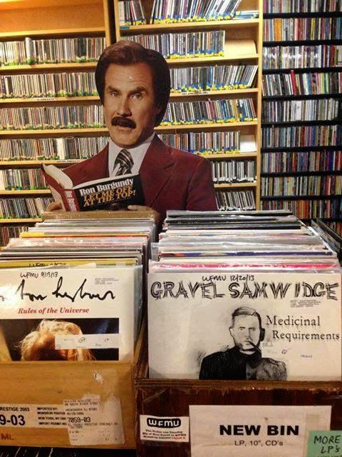 Gravel Samwidge's Medicinal Requirements @ WFMU